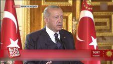 Cumhurbaşkanı: Ayasofya müze statüsünden çıkarılabilir