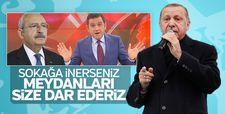 Erdoğan'dan Kılıçdaroğlu'na Bu defa kaçmaya fırsat bulamazsın