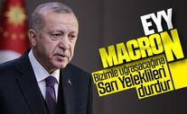 Erdoğan'dan Macron'a İslami terör tepkisi