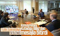 Erdoğan'dan Türk Konseyi Zirvesi'nde birlik mesajı