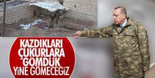 Erdoğan: Teröristler, bela olmaktan çıkacak