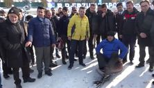 Erzurum Vali Memiş'ten lastik raftingi