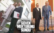 Egemen Bağış Çekya Cumhurbaşkanı'na güven mektubunu sundu