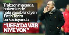 Fatih Terim'den UEFA'ya VAR eleştirisi