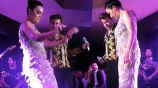 Fatih Ürek'ten Ebru Gündeş'e göbek dansı