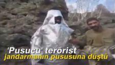 'Pusucu' terörist, jandarmanın pususuna düştü