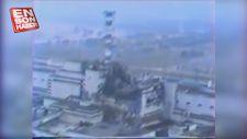 Çernobil felaketinden sonra havadan çekilen görüntüler