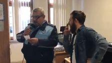 Fındıklı belediyesi hoparlörlerinden anons şakası