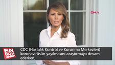 ABD'nin First Lady'sinden maske takın uyarısı
