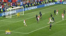 Fransa 1-1 Hırvatistan Gol Ivan Perisic