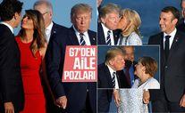 Fransa'daki G7 Zirvesi'nde liderlerden aile fotoğrafı