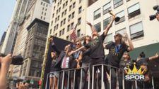 ABD'nin 2019 FIFA Kadınlar Dünya Kupası zaferi New York'ta kutlandı