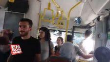 HDP'liler kayyumu protesto için otobüse bedava bindi