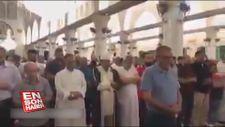 Muhammed Mursi için Mescid-i Aksa'da gıyabi cenaze namazı kılındı