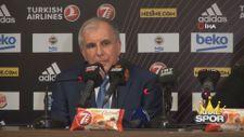 Zeljko Obradovic: Her maçı dikkatli izleyip detaylara bakmamız gerekiyor