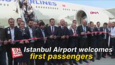 Istanbul Airport welcomes first passengers WATCH