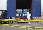 Gürbulak Sınır Kapısı'nda 18,4 ton siyanür ele geçirildi