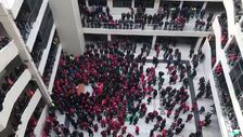 Çankaya Belediyesi'nde işçiler eylemde