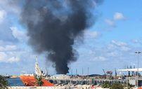 Hafter milisleri Trablus Limanı'na roketli saldırı düzenledi