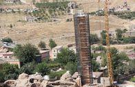Hasankeyf'te minarenin taşları sökülmeye başlandı