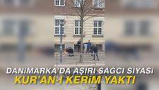 Danimarka'da aşırı sağcı siyasi Kur'an-ı Kerim yaktı