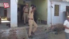 Hindistan'da karantinayı reddeden adam tekme tokat dövüldü