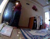 Kiracısının evine hırsızlık yapmak için giren ev sahibi