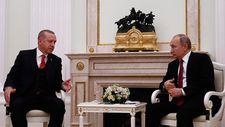 Erdoğan ile Putin Rusya'da bir araya geldi