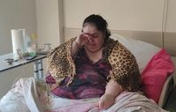 İki kanseri yendi ama aldığı kilolarla başı dertte