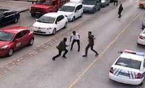 Erzurum'da iki kardeşin karıştığı cinayet kamerada
