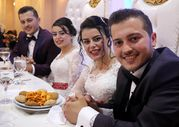 Kayseri'de ikiz kardeşler ikizlerle evlendi
