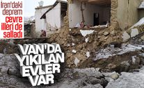 İran'daki deprem Van'ı da salladı
