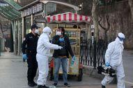İranlı hırsızlık şüphelisi öksürerek polisten kurtulmaya çalıştı