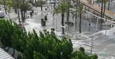 İspanya'da mini tsunami