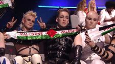 Eurovision finalinde Madonna ve İzlanda'dan Filistin protestosu