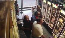 İstanbul'da hırsız alkol şişesini pantolonuna sakladı