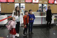İstanbul Havalimanı'nda yarıyıl tatili hareketliliği