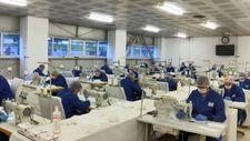 Jandarma, günde 100 bin maske üretiyor
