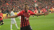 Trabzon'un yeni transferi Sekidika'nın şık hareketleri