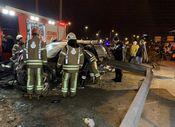 Kadıköy'de 14 yaşındaki sürücü kaza yaptı bacağı koptu