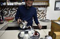 Kahvehanede süt satışına yoğun ilgi