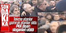 Kemal Kılıçdaroğlu'na saldırının görüntüleri