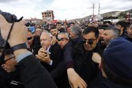 Kemal Kılıçdaroğlu'na saldırının yeni görüntüleri