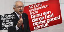 Kılıçdaroğlu'nun konuşması sırasında yaşanan gerginlik