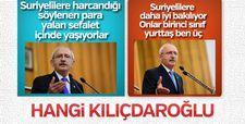 Kılıçdaroğlu Suriyeliler hakkında çelişkili ifadeler kullandı