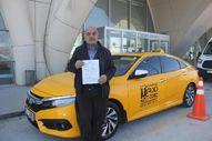 Kırşehir'de, kaçak göçmen taşıyan taksi şoförüne ceza