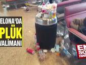 Barcelona'da çöplük havalimanı