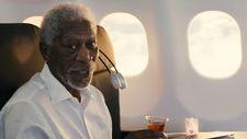 Oscar ödüllü Morgan Freeman, THY reklamında
