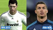 Cristiano Ronaldo'nun FIFA 2000'den 2017'ye değişimi