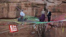 Kanyon'da ilginç bir düğün